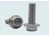 ex Flange bolts - Steel Zinc Plated, Yellow Passivated