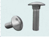 Mushroom Head Square Neck Bolts - Steel and Steel Zinc Plated